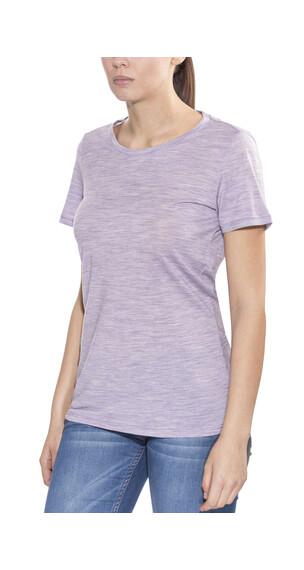 Icebreaker Tech Lite t-shirt Dames violet